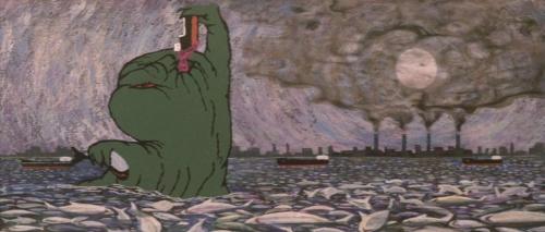 Godzilla Vs Hedorah 015